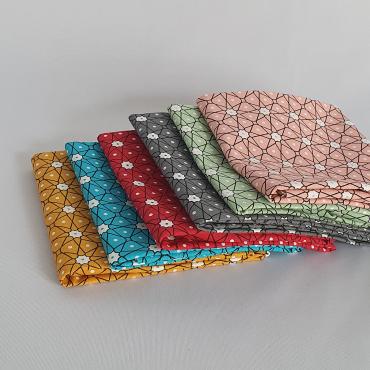 Tissus coton imprimé